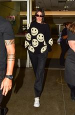 KENDALL JENNER Arrives at LAX Airport in Los Angeles 07/17/2019