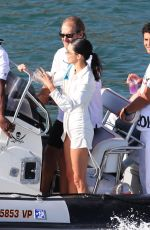 KENDALL JENNER at a Boat in Malibu 07/04/2019