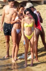 KENDALL JENNER in Bikini at a Beach on Mykonos Island 07/08/2019