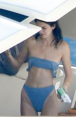 KENDALL JENNER in Bikini at a Tacht in Corsica 07/26/2019