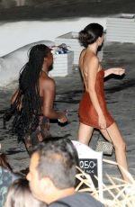 KENDALL JENNER Night Out on Mykonos Island 07/09/2019