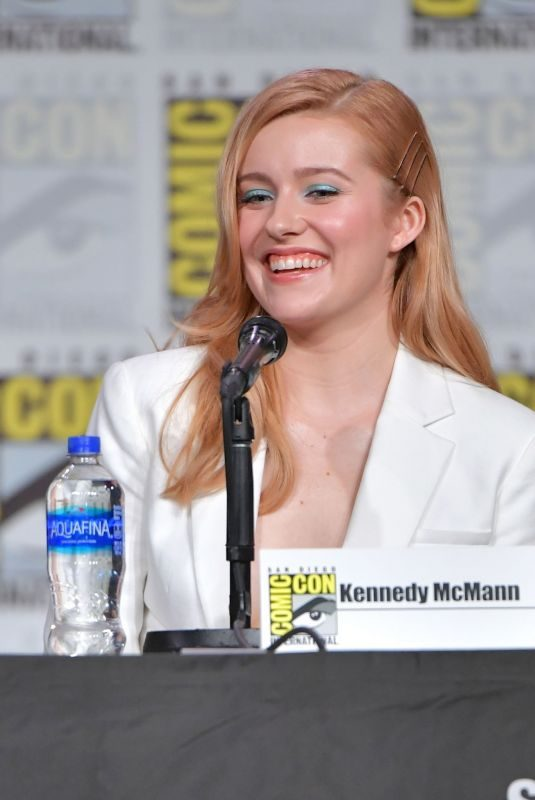 KENNEDY MCCANN at Nancy Drew Panel at San Diego Comic-con 07/18/2019