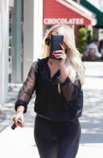 KHLOE KARDASHIAN Out in Beverly Hills 07/24/2019