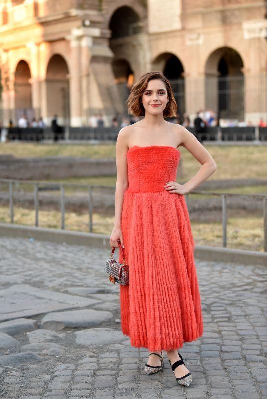 KIERNAN SHIPKA at Fendi Couture Fall/Winter 2019/2020 Show in Rome 07/04/2019