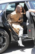 KIM KARDASHIAN Arrives at Art Store in Los Angeles 07/10/2019