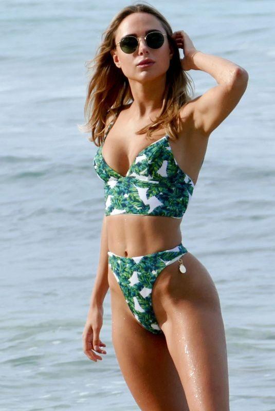 KIMBERLEY GARNER in Bikini at a Beach in St Tropez 07/24/2019