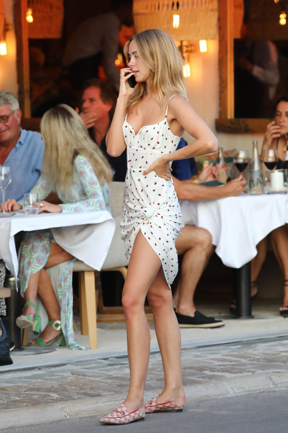 KIMBERLEY GARNER Out and About in Saint Tropez 07/24/2019