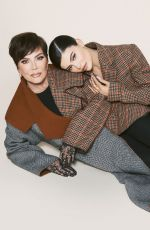 KRIS and KYLIE JENNER for Harper