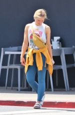 KRISTEN BELL Leaves a Gym in Los Angeles 07/09/2019
