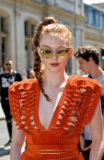 LARSEN THOMPSON at Jean Paul Gaultier Haute Couture Fall/Winter 2019/2020 Show in Paris 07/03/2019