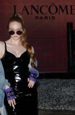 LARSEN THOMPSON at Lancome Party at Paris Fashion Week 07/02/2019