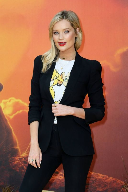 LAURA WHITMORE at The Lion King Premiere in London 07/14/2019
