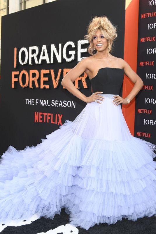 LAVERNE COX at Orange is the New Black Final Season Premiere in New York 07/25/2019