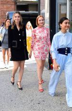 LIANA LIBERATO, HALEY RAMM and BRIANNE TJU Arrives at Build Series in New York 07/15/2019