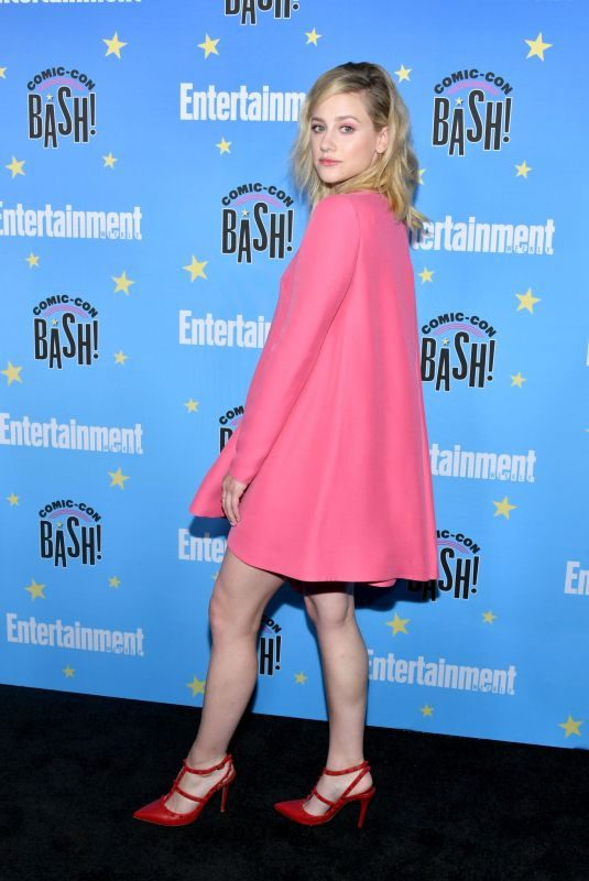 LILI REINHART at Entertainment Weekly Party at Comic-con in San Diego 07/20/2019