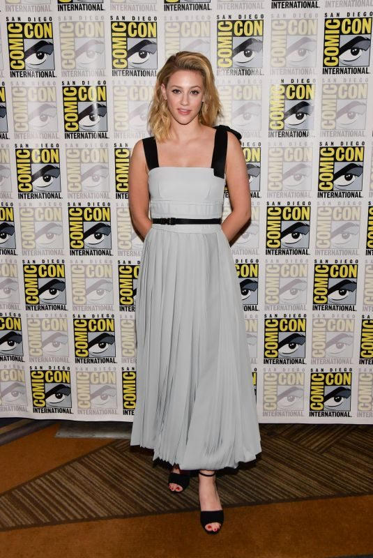LILI REINHART at Riverdale Panel at Comic-con in San Diego 07/21/2019