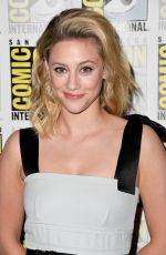 LILI REINHART at Riverdale Photocall at Comic-con International in San Diego 07/21/2019
