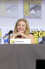 LILI REINHART, CAMILA MENDES and MADELAINE PETSCH and Riverdale Special Video Presentation at Comic-con 07/21/2019