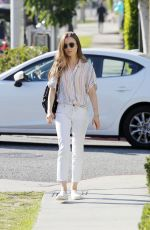 LILY COLLINS Out and About in Beverly Hills 07/17/2019