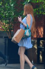 LINDSAY LOHAN Out and About in New York 07/14/2019