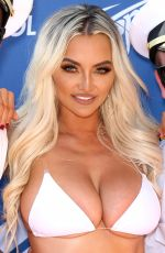 LINDSEY PELAS Hosts Bash at Sapphire Pool and Dayclub in Las Vegas 07/06/2019