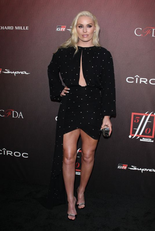 LINDSEY VONN at Sports Illustrated Fashionable 50 in Los Angeles 07/18/2019