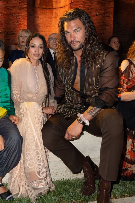 LISA BONET and Jason Momoa at Fendi Fashion Show in Rome 07/04/2019