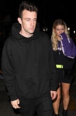 LOTTIE MOSS and Daniel Mickelson at Delilah in West Hollywood 07/08/2019