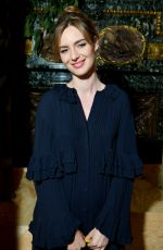 LOUISE BOURGOIN at Valentino Haute Couture Fall/Winter 2019/2020 Show in Paris 07/03/2019