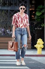LUCY HALE Out and About in Los Angeles 07/13/2019