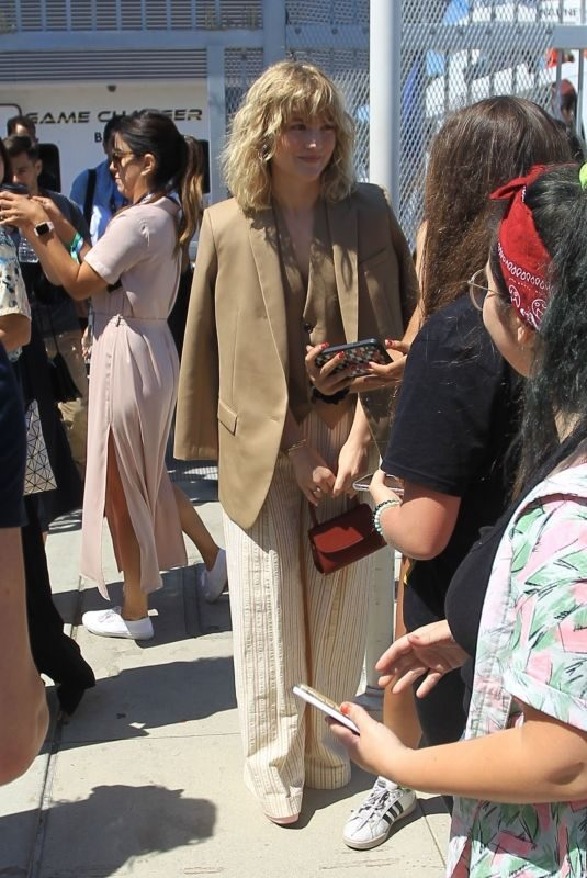 MADDIE HASSON Arrives at Comic-con 2019 in San Diego 07/19/2019