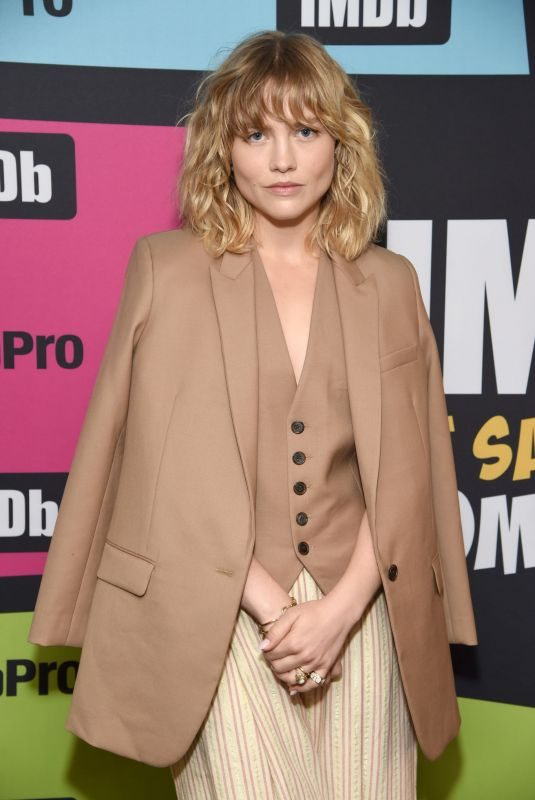 MADDIE HASSON at #imdboat at 2019 Comic-con in San Diego 07/19/2019