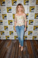 MADDIE HASSON at Impulse Photocall at Comic-con in San Diego 07/20/2019