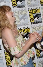 MADDIE HASSON at Impulse Press Line at Comic-con in San Diego 07/20/2019