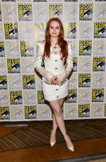 MADELAINE PETSCH at Riverdale Photocall at Comic-con International in San Diego 07/21/2019