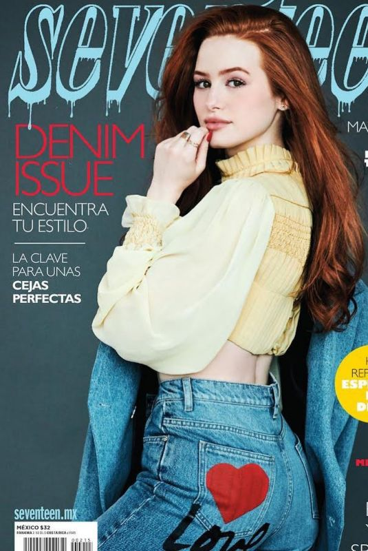 MADELAINE PETSCH on the Cover of Seventeen Magazine, Mexico 2019