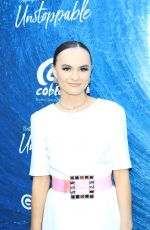 MADELINE CARROLL at Unstoppable Premiere at Arclight Theatre in Hollywood 07/09/2019
