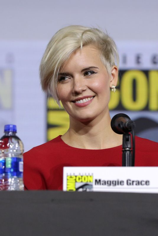 MAGGIE GRACE at Fear the Walking Dead Panel at San Diego Comic-con 07/19/2019
