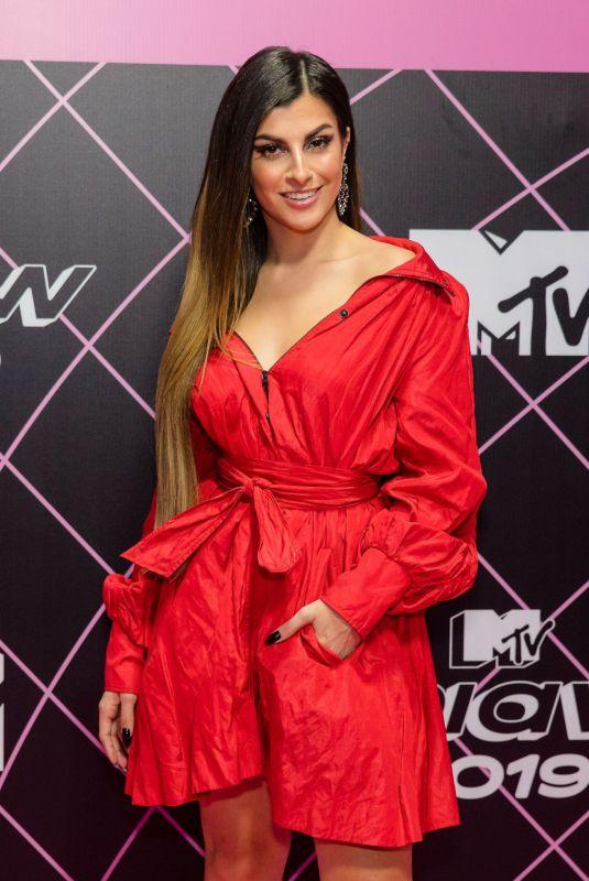 MAH CARDOSO at MTV Miaw 2019 at Credicard Hall in Sao Paulo 07/03/2019