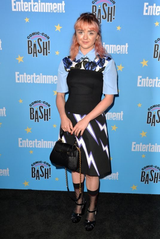 MAISIE WILLIAMS at Entertainment Weekly Party at Comic-con in San Diego 07/20/2019