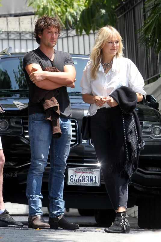 MALIN AKERMAN and Jack Donnelly Leaves Chateau Marmont in Los Angeles 06/27/2019