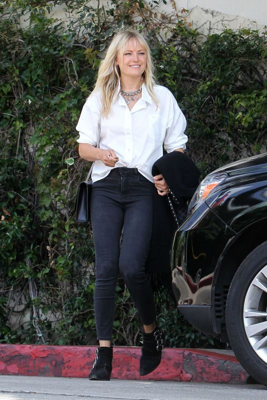 MALIN AKERMAN at Chateau Marmont in West Hollywood 06/27/2019