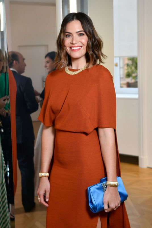 MANDY MOORE at Net-a-porter Cocktail to Celebrate a Collection of High Jewelry 07/03/2019