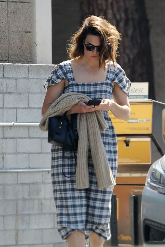 MANDY MOORE Out and About in Los Angeles 07/07/2019