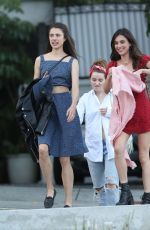 MARGARET and RAINEY QUALLEY and KAITLYN DEVER Out in Los Angeles 07/08/2019
