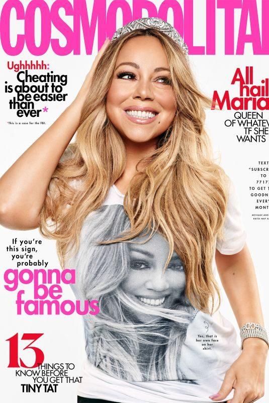 MARIAH CAREY in Cosmopolitan Magazine, August 2019