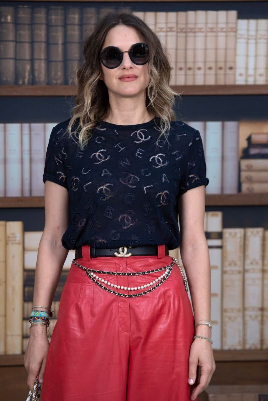 MARION COTILLARD at Chanel Haute Couture Fall/Winter 2019/20 Show at Paris Fashion Week 07/02/2019