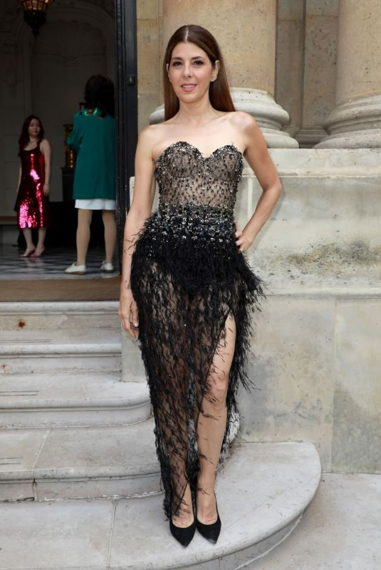 MARISA TOME at Ralph & Russo Fashion Show in Paris 07/01/2019