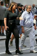 MARISKA HARGITAY on the Set of Law and Order: SVU in New York 07/15/2019