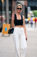 MARTHA HUNT Out and About in New York 07/17/2019